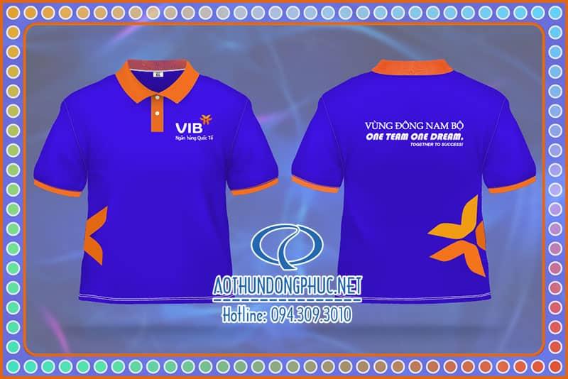 Đồng phục áo thun ngân hàng VIB