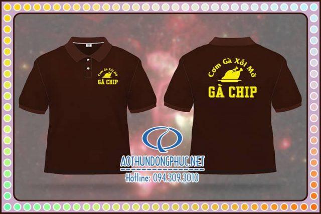 Đồng phục thun quán Gà Chip
