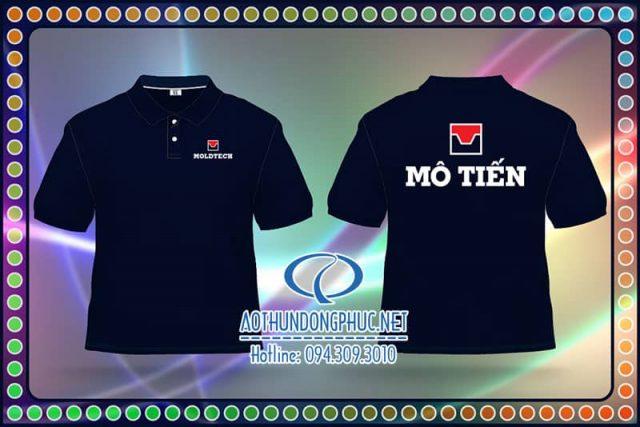 Áo đồng phục thun Công ty Mô Tiến