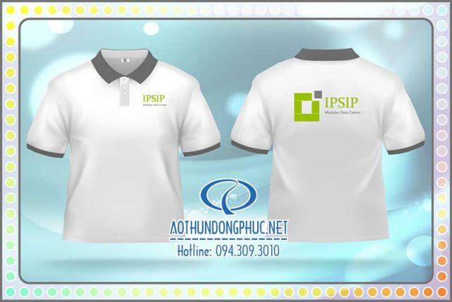 Đồng phục áo thun nhân viên Công Ty IPSIP