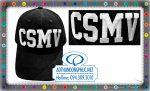 Thêu may mũ nón kết lưỡi trai đồng phục CSMV, nón lưỡi trai vải kaki nhung màu đen thêu logo theo yêu cầu tại TpHCM